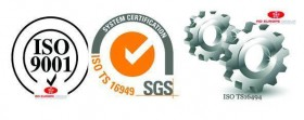 ISO 9001 - ISO TS16494 - ISO TS 16949 - RD EUROPE GROUP
